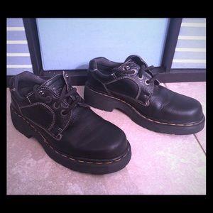 Dr Martens Black Leather Oxford